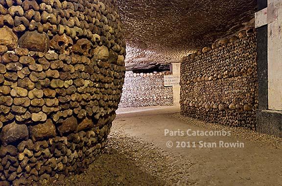 Catacombs Paris, France