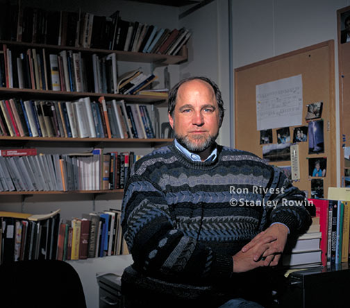 Photo of Ron Rivest, RSA Security, MIT