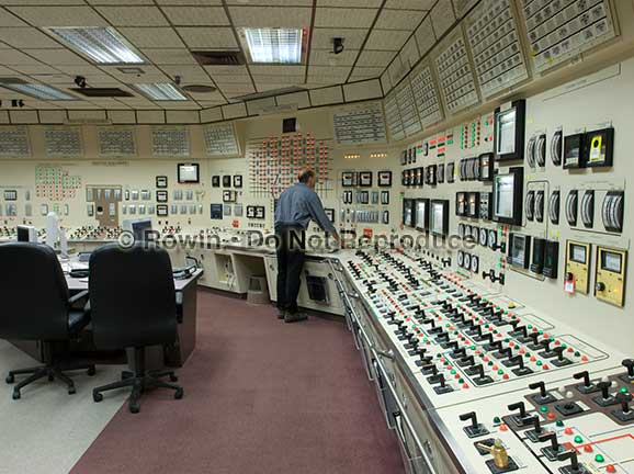 nuclear power plant control room photo