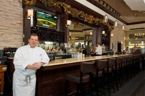 Boston Annual Report Photo of Chef Paul Wahlberg at Alma Nove Restaurant