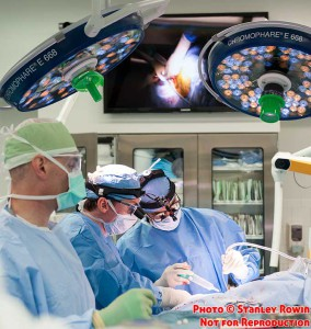 Brain Surgery in the Mass General Hospital Operating Room