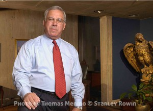 Portrait of Thomas M. Menino, Mayor of Boston