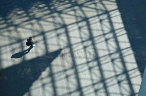 JFK Library Shadows