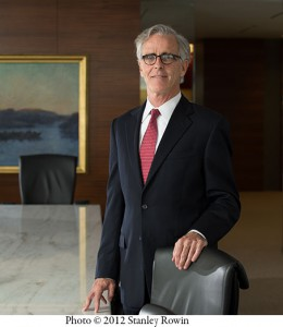 Boston Portrait of James Mahoney, Bank of America