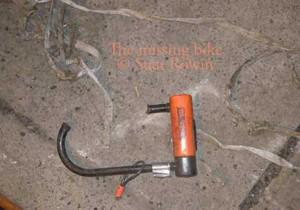 Broken Bike Lock by Bicycle Thief