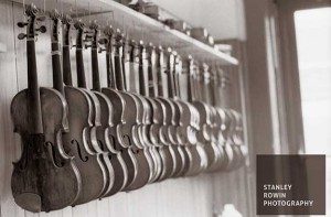 North Bennett Street School - Violins Hanging