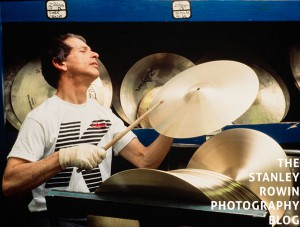 The master tuner, testing a Ziljian Cymbal at their factory