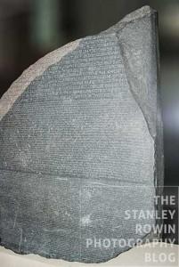 The Rosetta Stone in British Museum