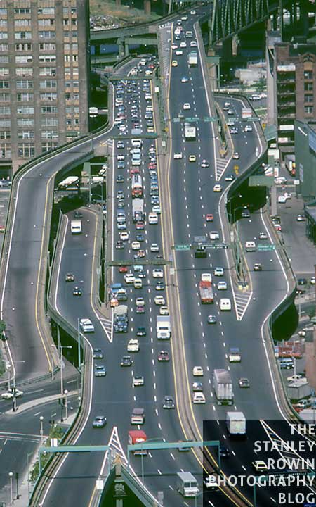 Aerial View of Boston's Central Artery