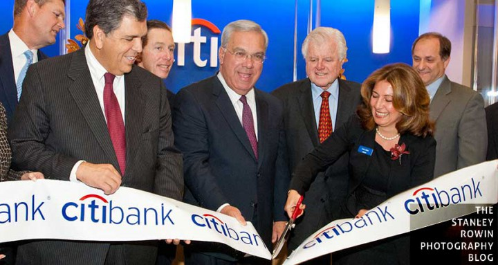 Photo of CitiBank Boston Grand Opening November 2006